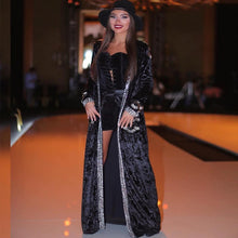 Diamond Accent Velvet Robe