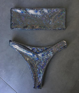 One/Two Piece Sequins Thong Bathing Suit