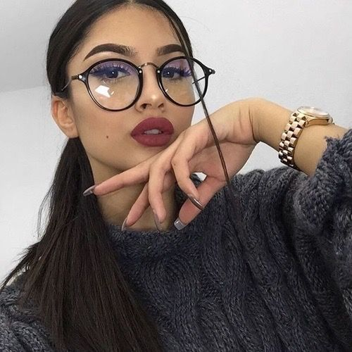 Round Transparent Glasses Frames