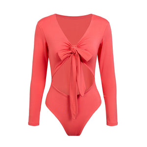 Red Bow Bodysuits