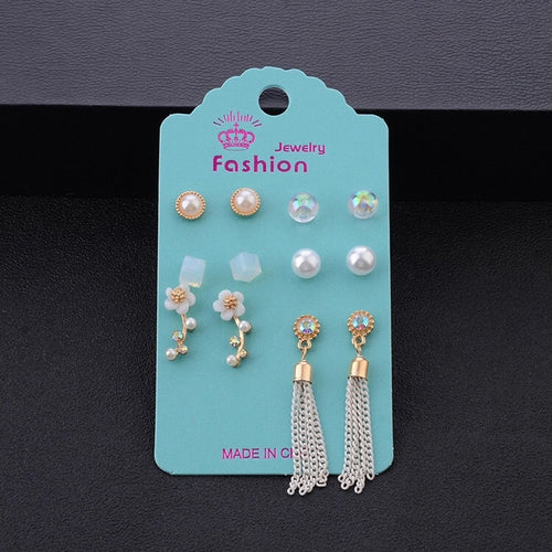 Bohemian Princess 6pc Earrings Set