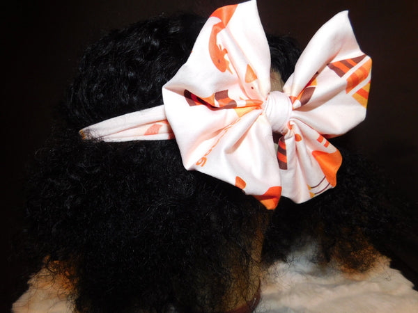 Orange Chicken Headband