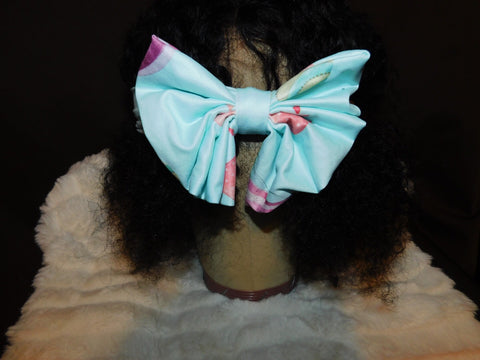 Blue butterfly Headband