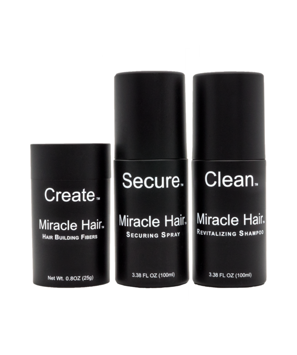 Miracle Hair® Full Thickening System (30-60 Day Supply)