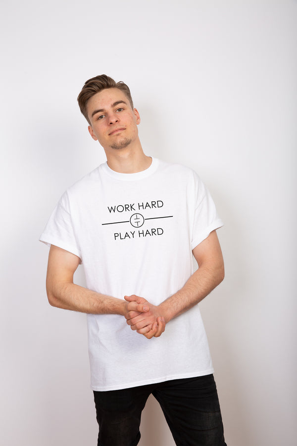 "T-Shirt ""Work Hard Play Hard"""