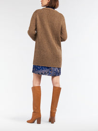 Knitted cardigan  -Golden Camel