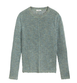 Mixed sweater -Washed Sage