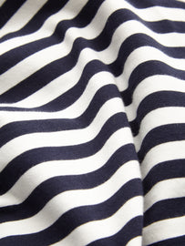 Essential long sleeve with stripes - Dark Saphire