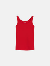 Plain singlet - Pop Red