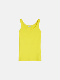 Plain singlet - Blazing Yellow