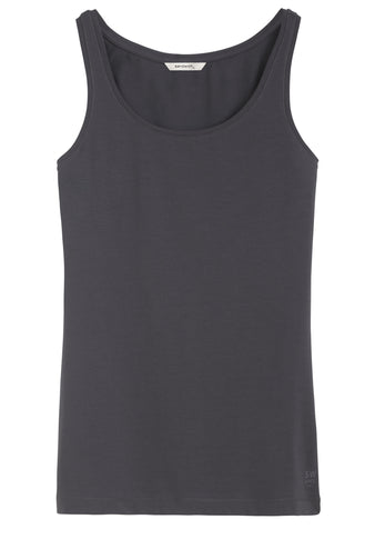 Basic tank top -Anthra
