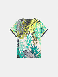 Top with palm print - Jolly Green