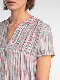 Striped blouse  -Dolphin