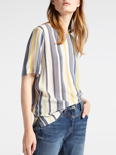 Striped blouse -Mimosa