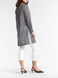 Tunic with stripes -Anthra