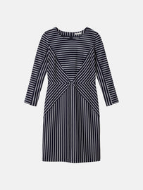 Striped dress - Dark Sapphire