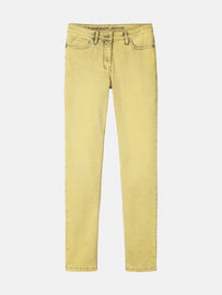 High waist skinny - Warm Yellow