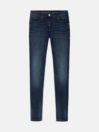 High waist skinny - Medium Blue Denim