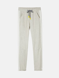 Sweat pants with piping - Fresh Grey HTR