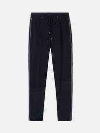 Sweat pants with piping - Dark Saphire