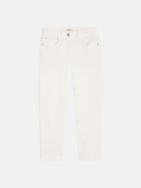 High waist skinny - Cropped - Spring-White