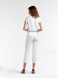 High waist skinny - Pure White