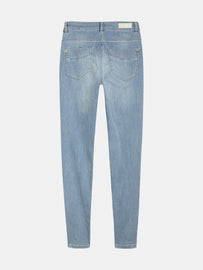 High waist skinny - Light blue denim