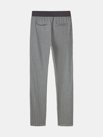 Super soft high-waisted pant with stripes - Iron