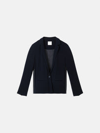 Blazer with piping - Dark Sapphire