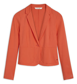 Stretch blazer -Coral
