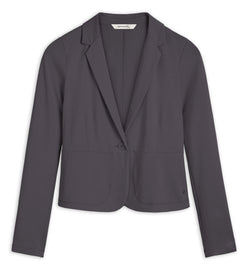 Stretch blazer -Anthra