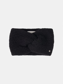 Headband with bow detail  -Black