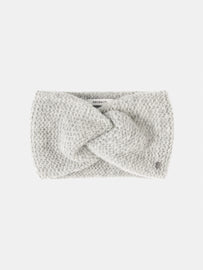 Headband with bow detail -Winter Grey Heather