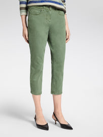 High waist skinny - ankle jeans -Washed Sage