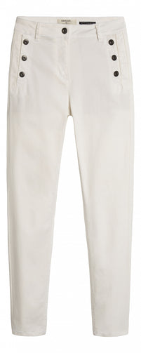High waist skinny cropped - Spring White