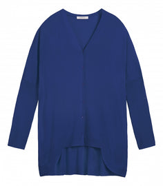 Cardigan Long Sleeves  -Merlin Blue