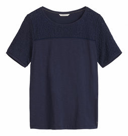T-shirt short sleeves -Navy