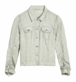 Linen jacket - Pure White