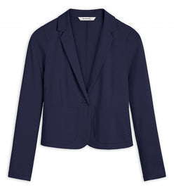Stretch blazer -Navy