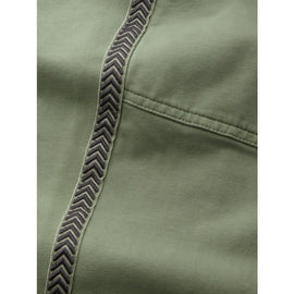 Bonn - Sweatpants with piping - Washed Sage