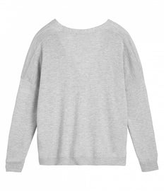 Cardigan with pockets - Pearl Grey HTR