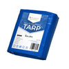 Heavy Duty Tarp Blue  - Durable Tarpaulin Waterproof with Eyelets - Anytime Garden©