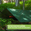 Heavy Duty Tarp Green  - Durable Tarpaulin Waterproof with Eyelets - Anytime Garden©