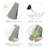 Bird Spikes /  Pigeon Spikes Stainless Steel 3 metres Total  Length - Anytime Garden© www.anytimegarden.co.uk Pigeon and Bird Pest Control for Home and Business