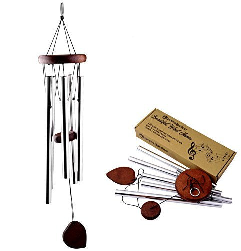 Wind  Chime 22 inch Wood - Anytime Garden©