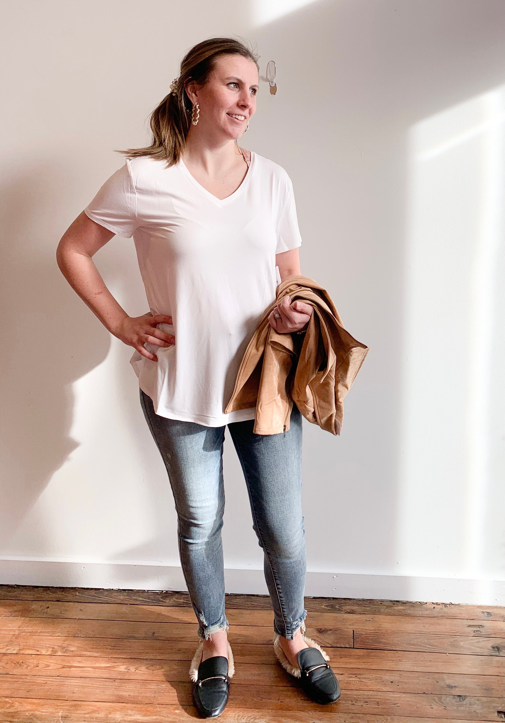 Perfect Fit Tee Ivory