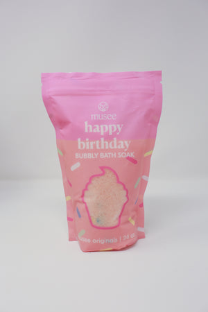 Happy Birthday Bubbly Bath Salt Soak