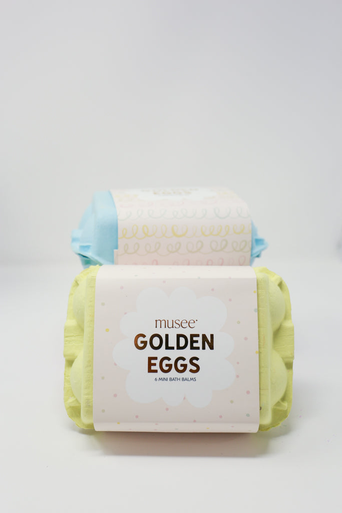 Musee Bath Golden Eggs Bath Bombs
