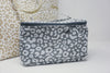 Smokey Leopard Cosmetic Bag