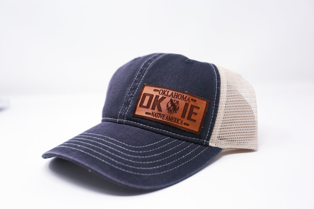 Okie Leather Patch Hat